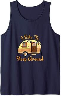 Funny Camping TShirt RV Camper Lover Glamping Vacation Tank Top