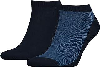 Levi's Men's 168sf Low Cut Micro Stripe 2p Socks
