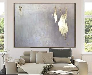 Peinture À L'Huile Peinte À La Main Sur Toile,100% Peint À La Main Moderne Minimaliste Abstraction Peinture À La Main Pein...