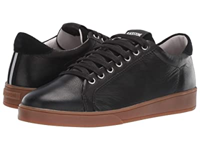 Blackstone Low Sneaker Gum Bottom RL84 (Black) Women