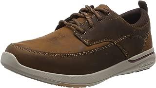 Skechers Men's Elent-Leven Leather Sneakers