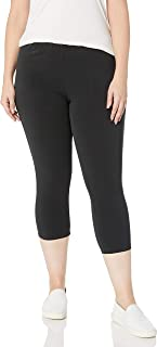 JUST MY SIZE Women's Plus-Size Stretch Jersey Capri Legging