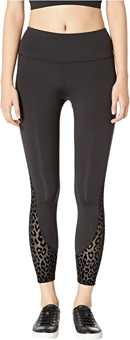 Dashing Beauty Leopard Mesh Leggings
