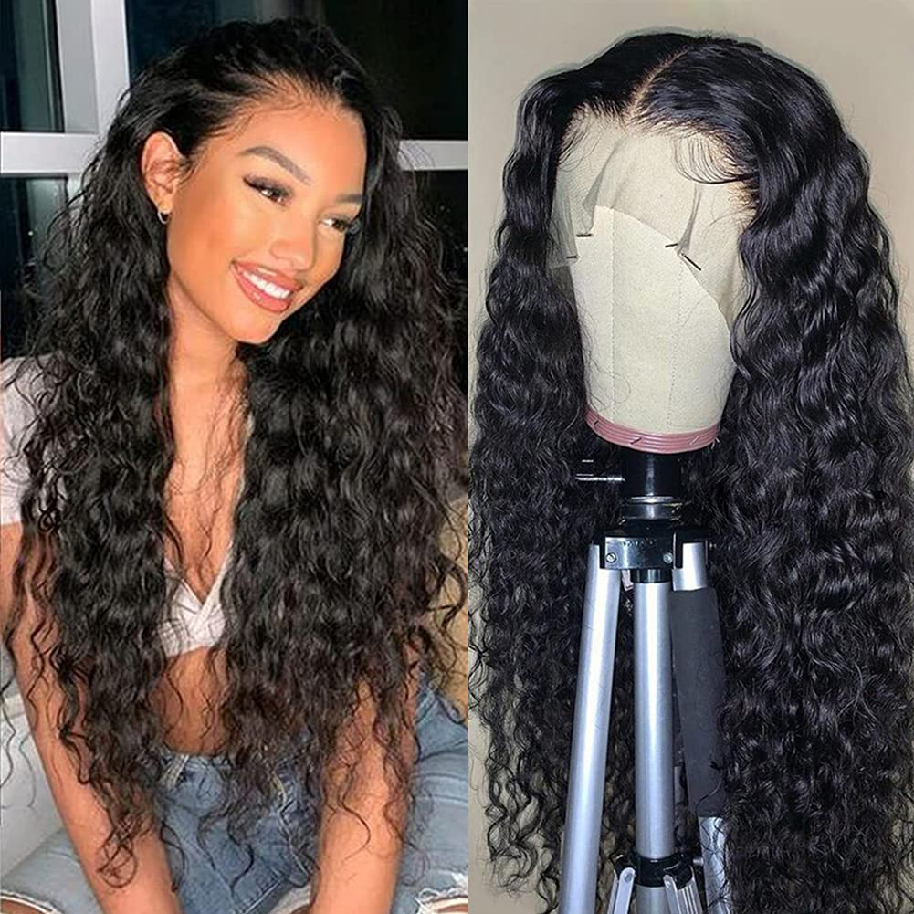 LAPONDAI Lace Bargain Front Wigs Human Hair HD 13x4 Fron Wave Water Long-awaited