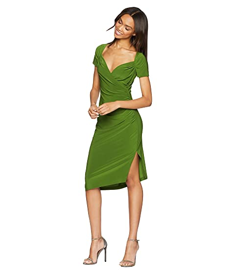 lateral Kamali Norma por cariño vestido de drapeado KAMALIKULTURE verde oliva BqPXw7xaX