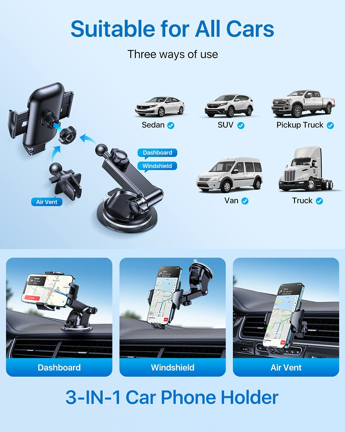 What are the benefits of using phone holders