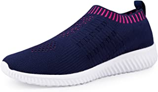 Women's Lightweight Walking Athletic Shoes Breathable Mesh Sneakers Casual Running Shoes