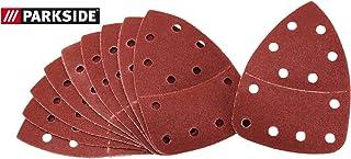 Hojas de lija para madera 10 unidades para Parkside mano Amoladora PHS 160 E5 – Lidl