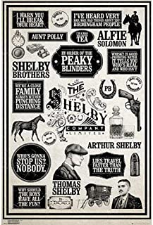 Peaky Blinders - Poster (Infographic #195)