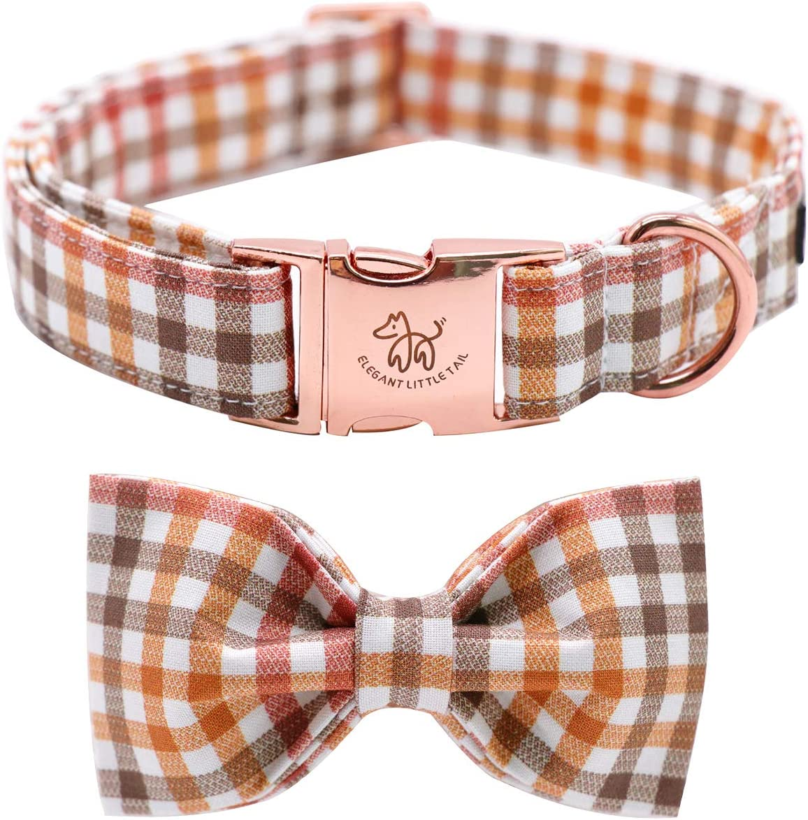 Be super welcome Elegant little tail Dog Collar Bowtie with Year-end gift Comfotable Bow