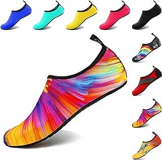 VIFUUR Womens Unisex-Adult FUwatershoes Water Shoes for Women Kids Men