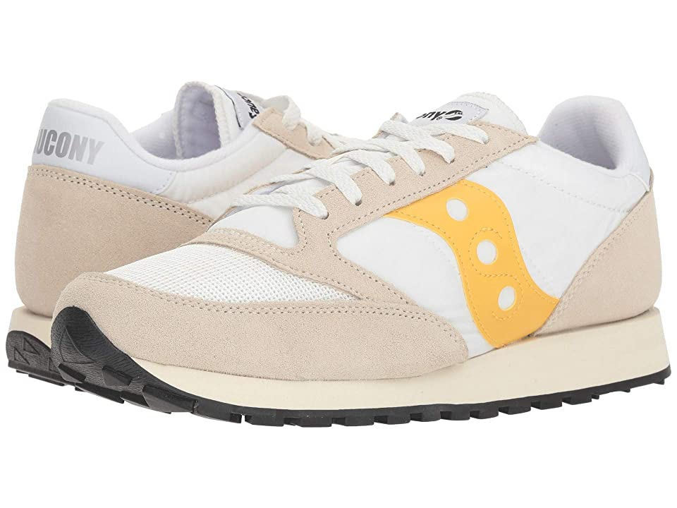 Saucony Originals Jazz Original Vintage (Cement/Yellow) Men