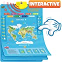 Learn & Climb Interactive World Map for Kids