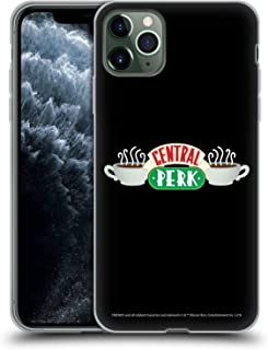 Official Friends TV Show Central Perk Logos Soft Gel Case Compatible for iPhone 11 Pro Max