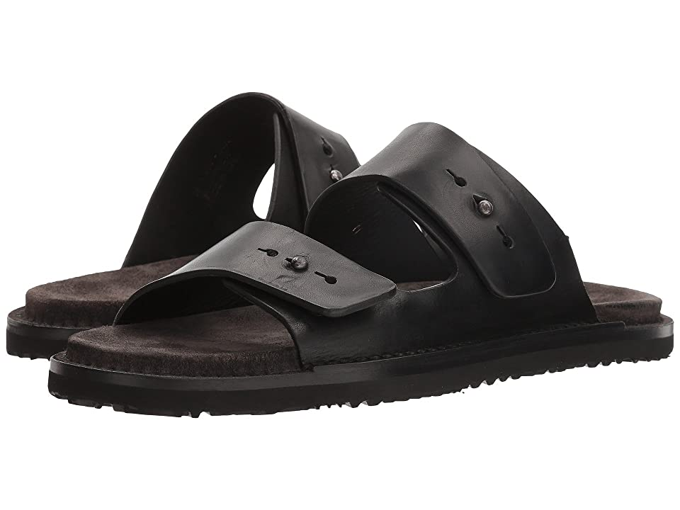 Frye Andrew Slide (Black) Women