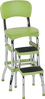 Cosco Green Retro Counter Chair / Step Stool