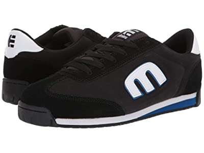etnies Lo-Cut II LS (Black/Charcoal/Blue) Men