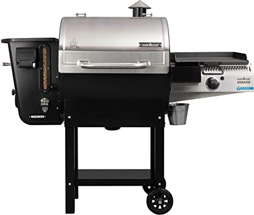 Camp-Chef-24-in.-WIFI-Woodwind-Pellet-Grill-&-Smoker-with-Sidekick-(PG14)