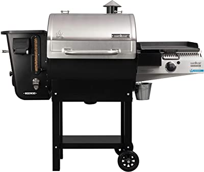 Camp Chef 24 in. WiFi Woodwind Pellet Grill & Smoker with Sidekick (PG14) - WiFi & Bluetooth Connectivity