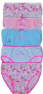 Qrity 5 Pack Little Girls Baby Underwear Knickers Soft Cotton Kids Underwear Size 3-8 Years