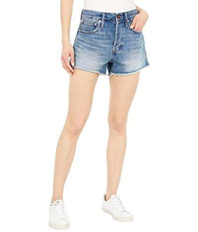 Madewell Relaxed Denim Shorts in Clintonville Wash (Clintonville Wash) Women