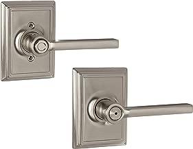 Schlage Lock Company F40LAT619ADD Latitude Privacy, Satin Nickel