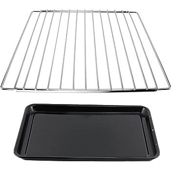 Spares2go - Estante extensible ajustable + bandeja grande para horno Smeg: Amazon.es: Grandes electrodomésticos