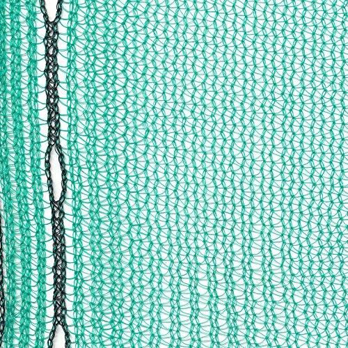Gerüstnetz Staubnetz Gerüstschutznetz (2,57 x 10m 50gr/m², grün)