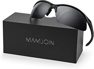Mamjoin Polarized Sports Sunglasses for Men Women UV400 Protection