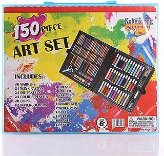 150 Sets of Children's Brush Watercolor Pen Set Crayons Crayons Art Graffiti DIY Painting Tools Gift Box