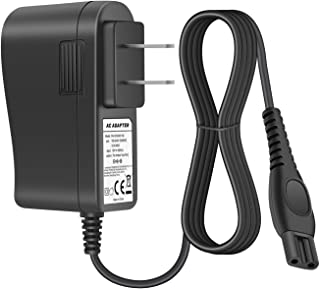 POWSEED 15V AC power Adapter for Philips Norelco Bodygroom 3100 5100 7100 Multigroom Pro Trimmer QG3300 QG3200 Arcitec Spectr SensoTouch SmartTouch-XL Speed-xl Precision Cool Skin Shaver Razor Charger