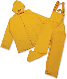 Stansport 4011158-SSI Stansport PVC/Polyester Commercial Rain Suit-Yellow XLarge - multi, N/A