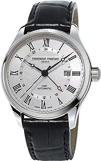 Frederique Constant Geneve - Classics Auto GMT FC-350MC5B6 Reloj Automático para Hombres Fabricado en Suiza