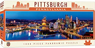 MasterPieces Cityscapes Panoramic Jigsaw Puzzle, Downtown Pittsburgh, Pennsylvania, Photographs by James Blakeway, 1000 Pieces