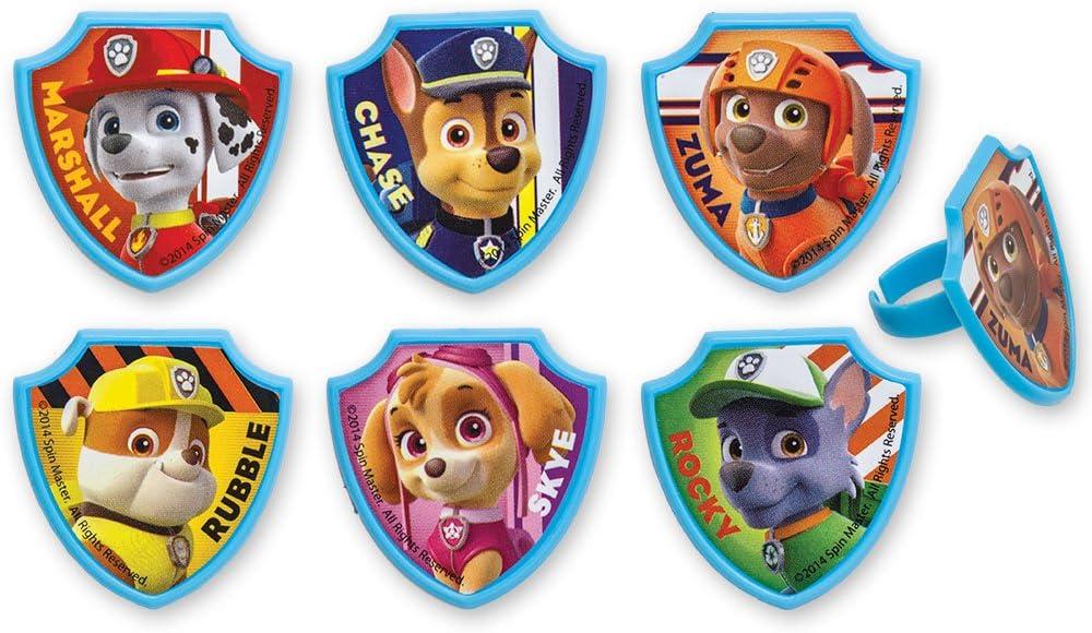 DecoPac PAW Patrol Ruff Rescue Cupcake Rings (24 Count)