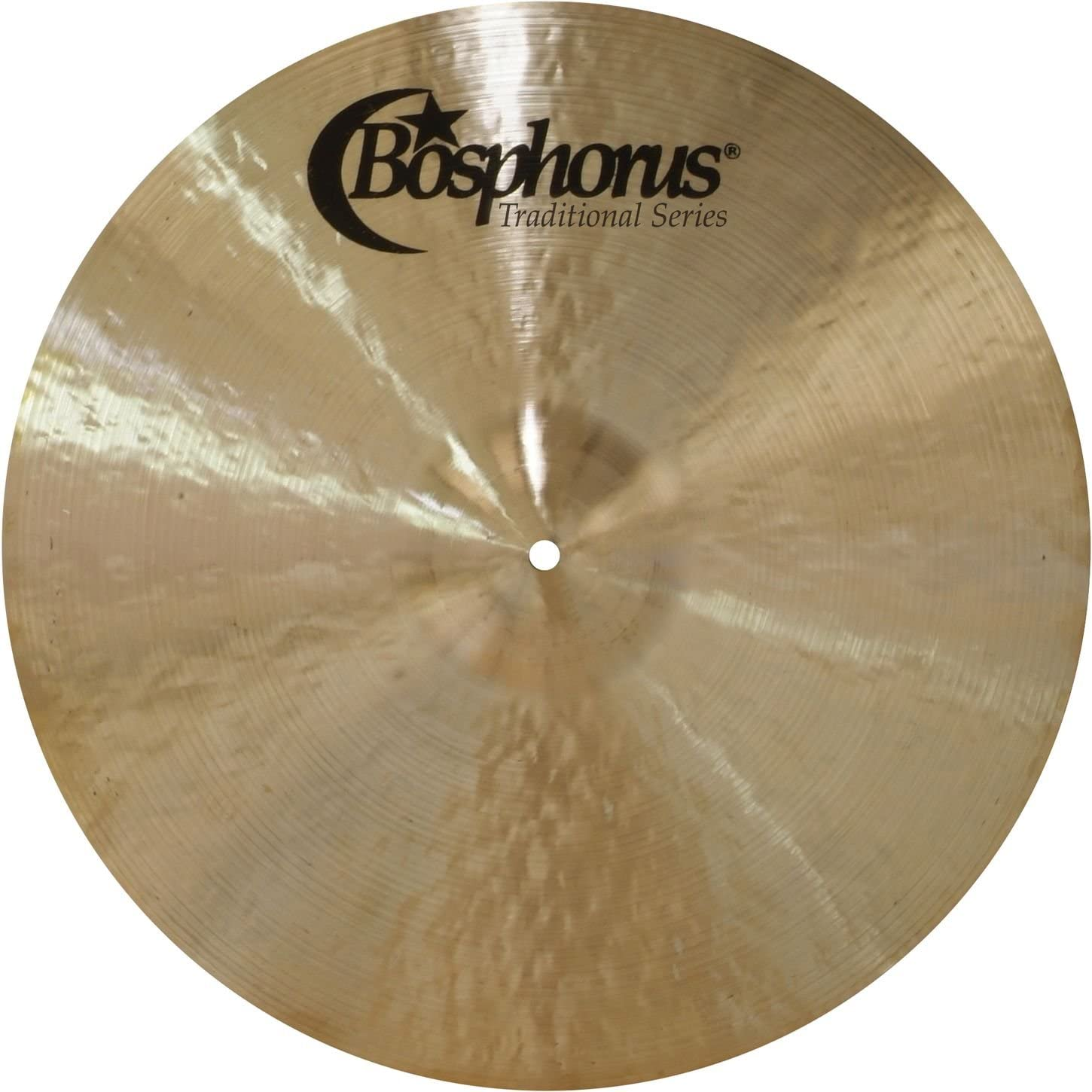 Factory outlet Bosphorus Cymbals T22R 22-Inch Ride Cymbal Detroit Mall Series Traditional