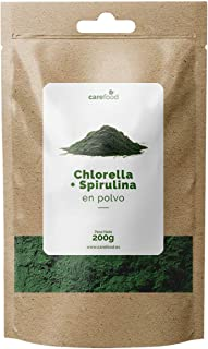 carefood Chlorella + Spirulina en polvo orgánica - 125 G