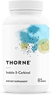 Thorne Research - Indole-3-Carbinol - I3C Supplement to Support Estrogen Metabolism - 60 Capsules