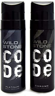 Wild Stone Code Chrome & Platinum Combo