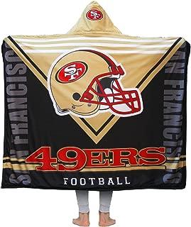 Football Team Sports Style Hooded Blanket 3D Printing Soft Fleece Sherpa Throw Blanket Soft Warm Air Blanket 50
