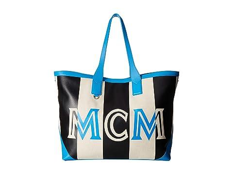 MCM Ilse Canvas Shopper Large