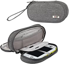 BUBM Double Compartment Storage Case Compatible with PS Vita and PSP, Protective Carrying Bag, Portable Travel Organizer C...