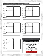 Weekly Lunch Planner: School Year Lunchbox Planner for the PlanetBox Launch Bento Box: 54 Weeks of Planning Pages (Bento Box Lunch Ideas)
