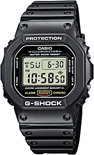 Casio G-Shock Classic Black Digital Dw5600-1 Watch