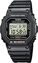 Casio Men's G-Shock Quartz Watch with Resin Strap, Black,...