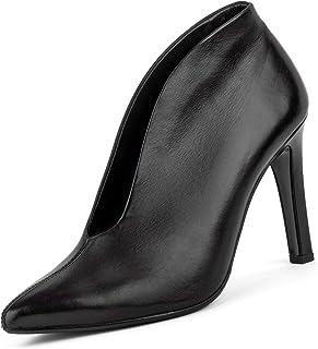 Paul Green Rote Pumps. paul green high heels samtziege rot