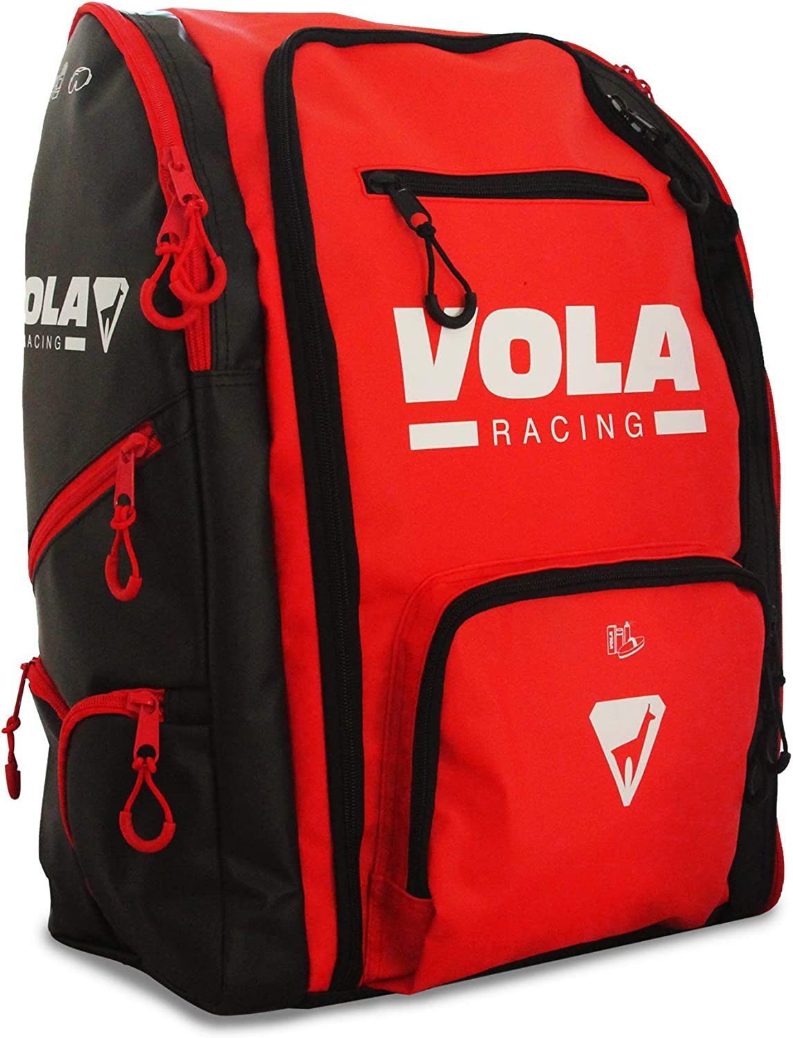 Vola Winter 253550 Unisex Adult Red Ranking TOP18 and Backpack Max 86% OFF - Black