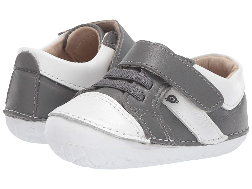 Old Soles Ground Pave (Infant/Toddler) (Grey/Snow) Boy