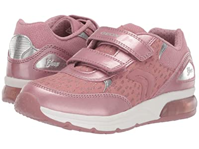 Geox Kids Jr Spaceclub 4 (Little Kid/Big Kid) (Dark Pink) Girls Shoes