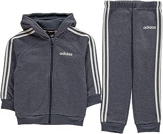 adidas Kids Boys 3 Stripes Tracksuit Jogger Fleece Long